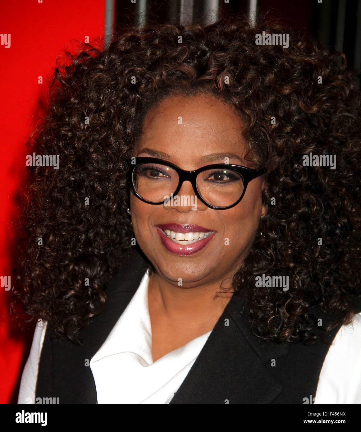 New York, USA. 14th Oct, 2015. OPRAH WINFREY attends the OWN premiere of the landmark 7- day TV event 'Belief' - Stock Image