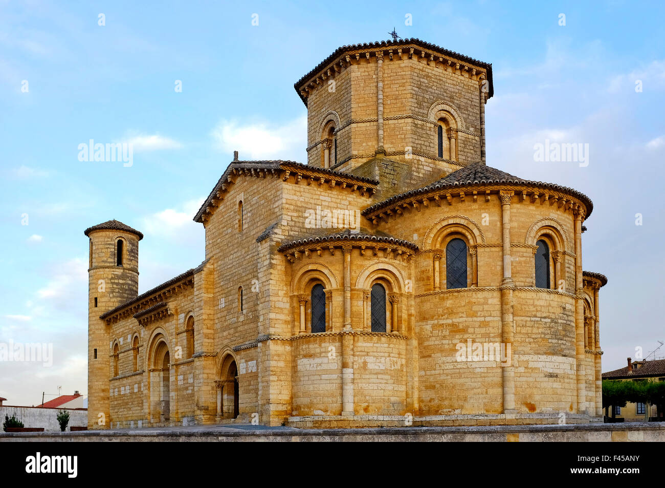 The church of San Martin de Tours in Fromista,Castile and León, Spain - Stock Image