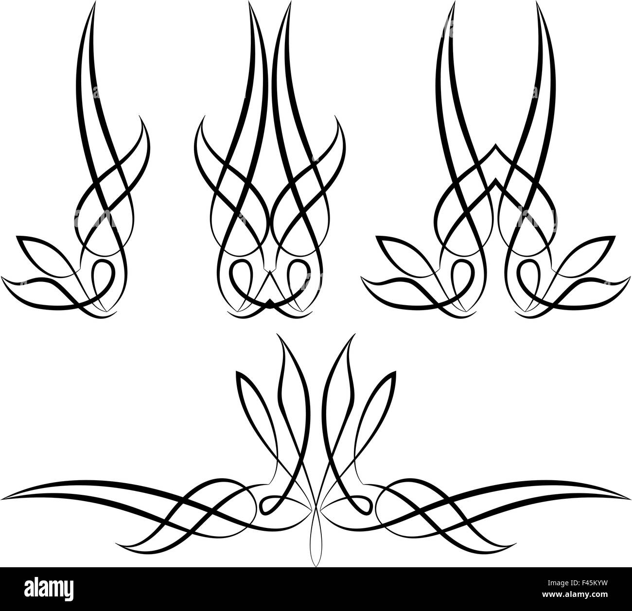 pinstripe graphics vinyl ready vector art stock vector art rh alamy com pinstripe vector pattern pinstripe vector graphics