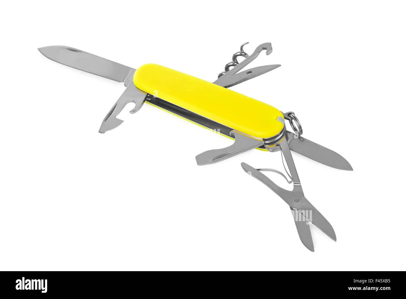 Knife multitool - Stock Image