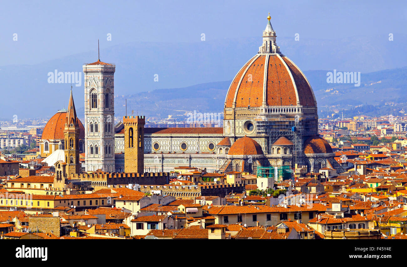 Florence cathedral Duomo - Stock Image