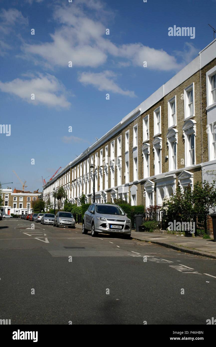 Wilkinson Street, South Lambeth, London, UK - Stock Image