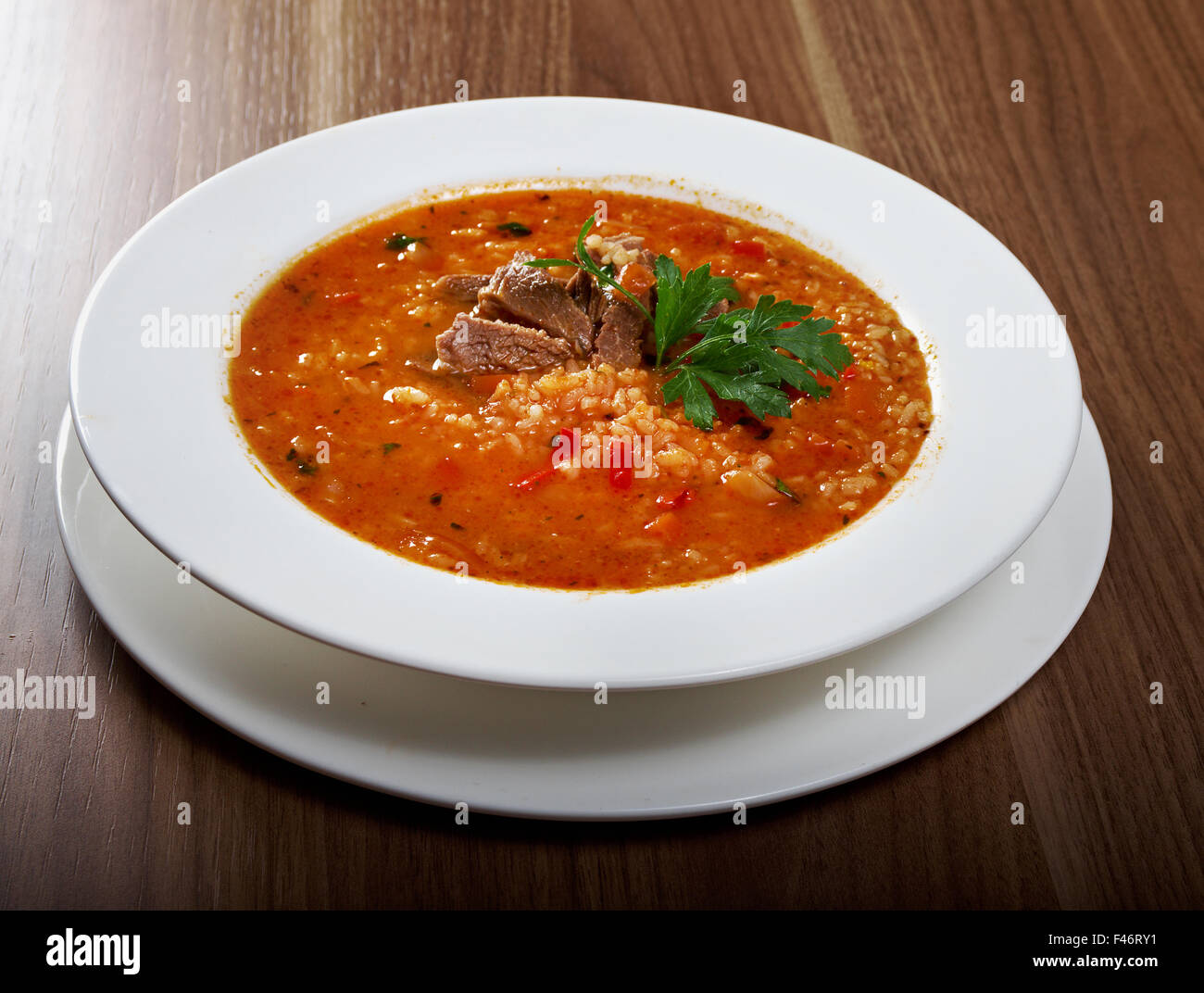 How to cook soup HARCHO from lamb