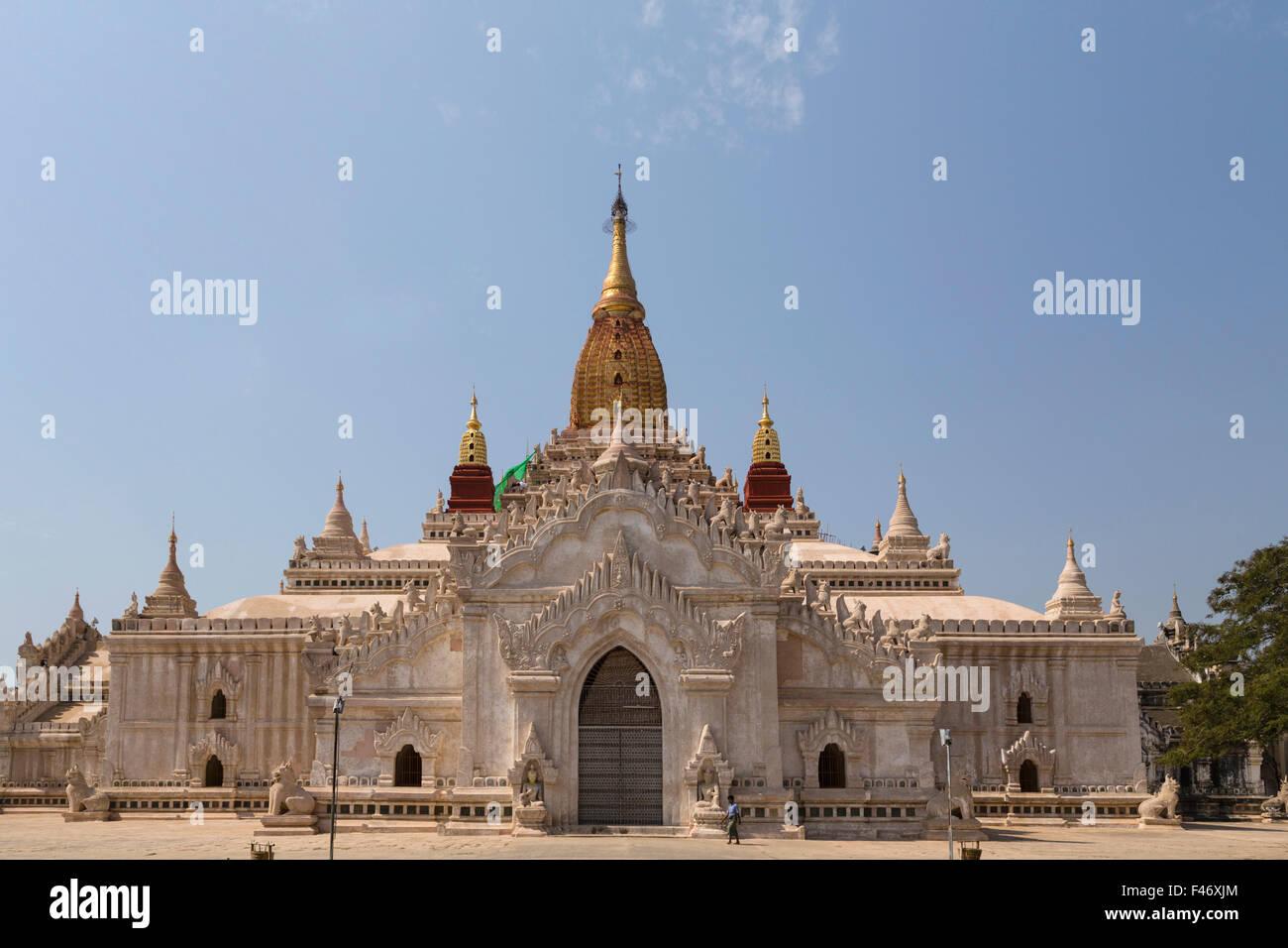 Pahto Ananda, one of Bagan's 4000 temples, Bagan, Myanmar - Stock Image
