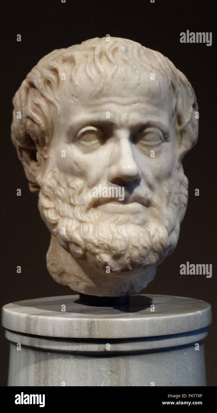 5825. Aristotle born 384 – 322 BC)[2]  was a Greek  philosopher  and scientist born in the Macedonia , on the northern - Stock Image