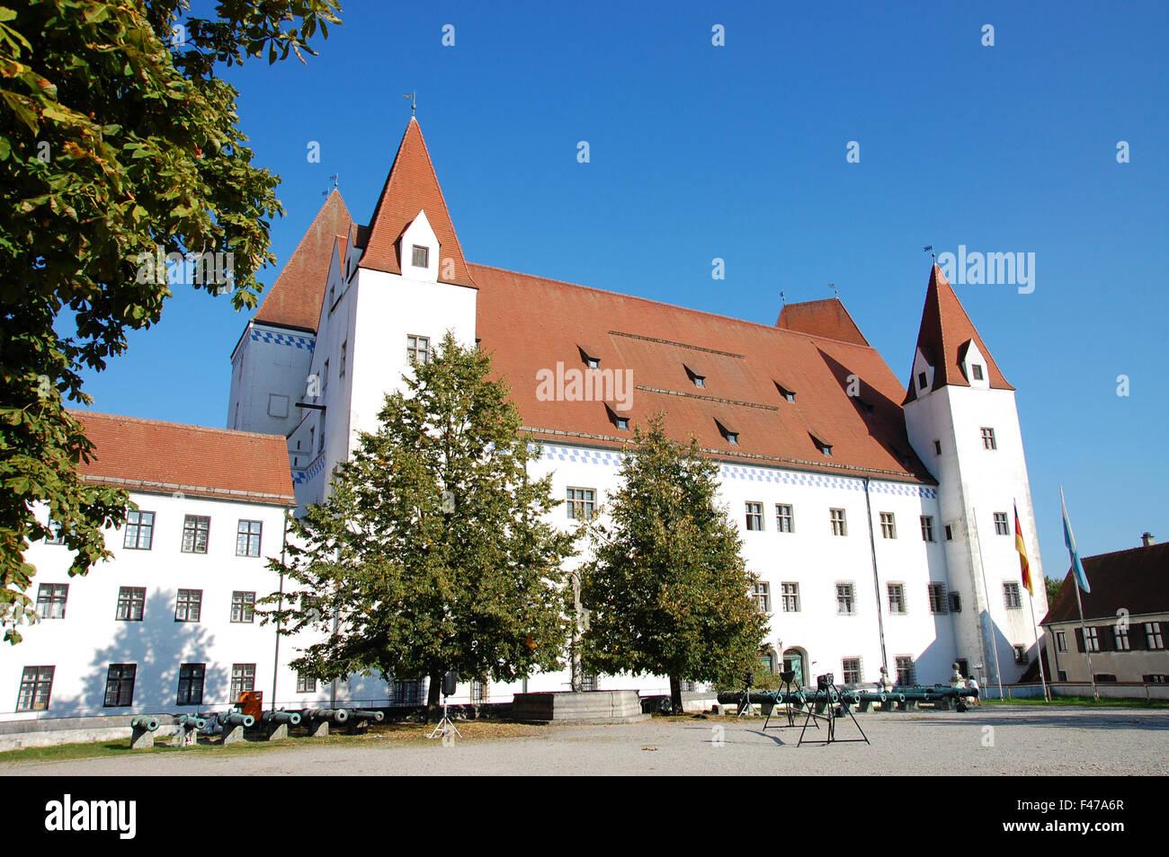 Neues Schloss in Ingolstadt, Germany Stock Photo