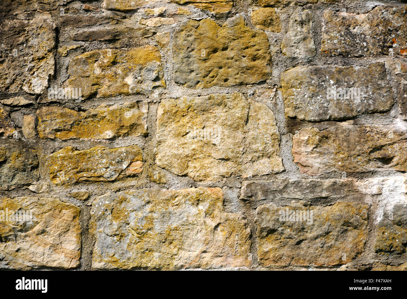 Stone-wall Stock Photo