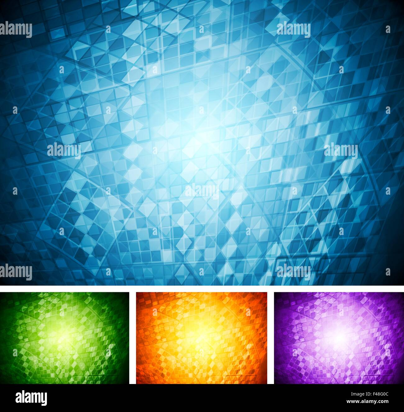 Abstract tech backgrounds - Stock Image