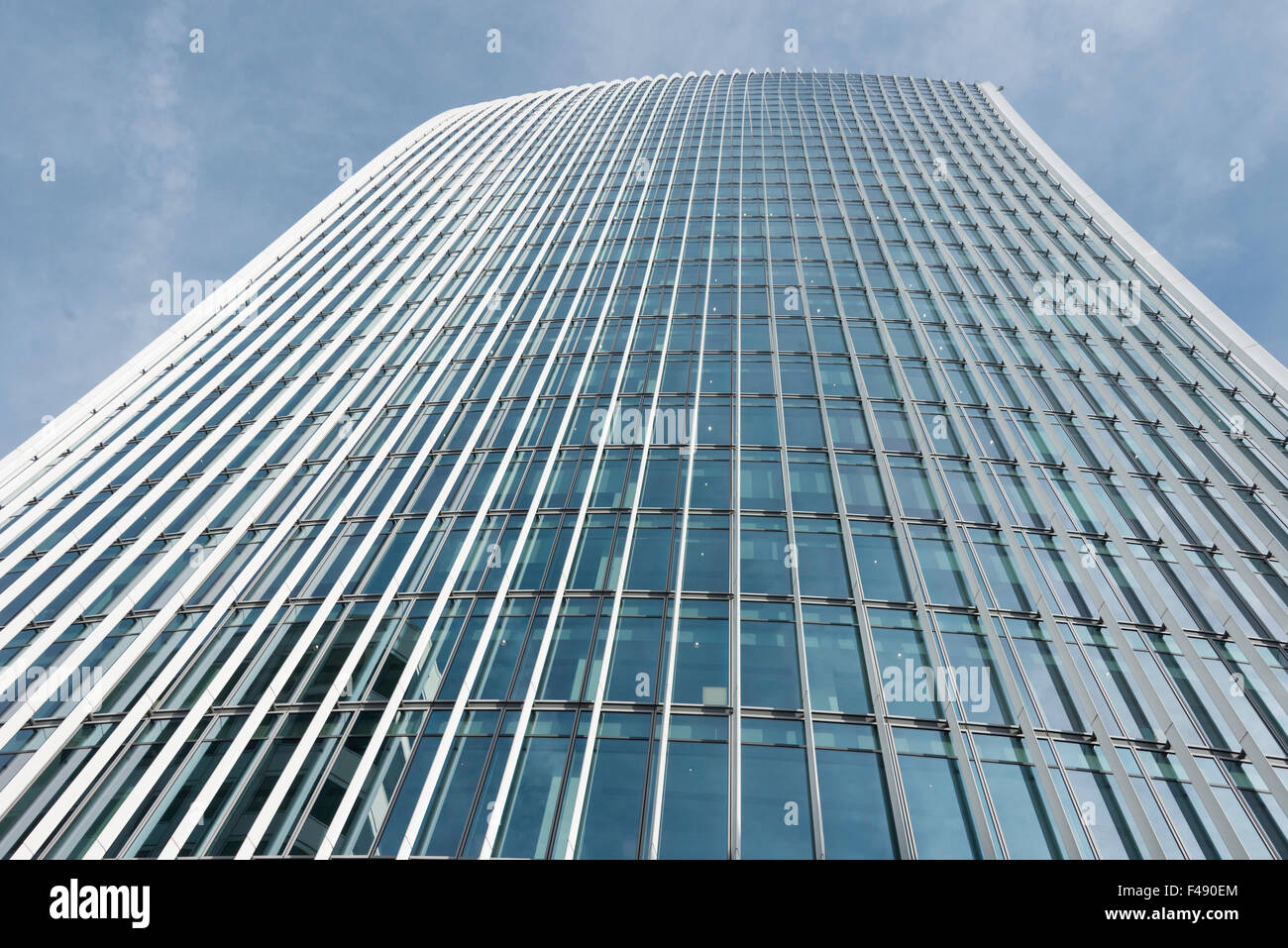 20 Fenchurch Street (walkie-talkie) building, Fenchurch Street, City of London, London, England, United Kingdom - Stock Image