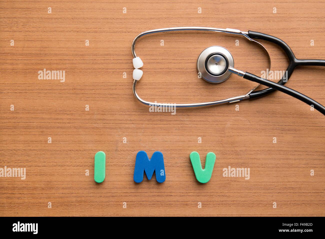 Intermittent mandatory ventilation (IMV) - Stock Image