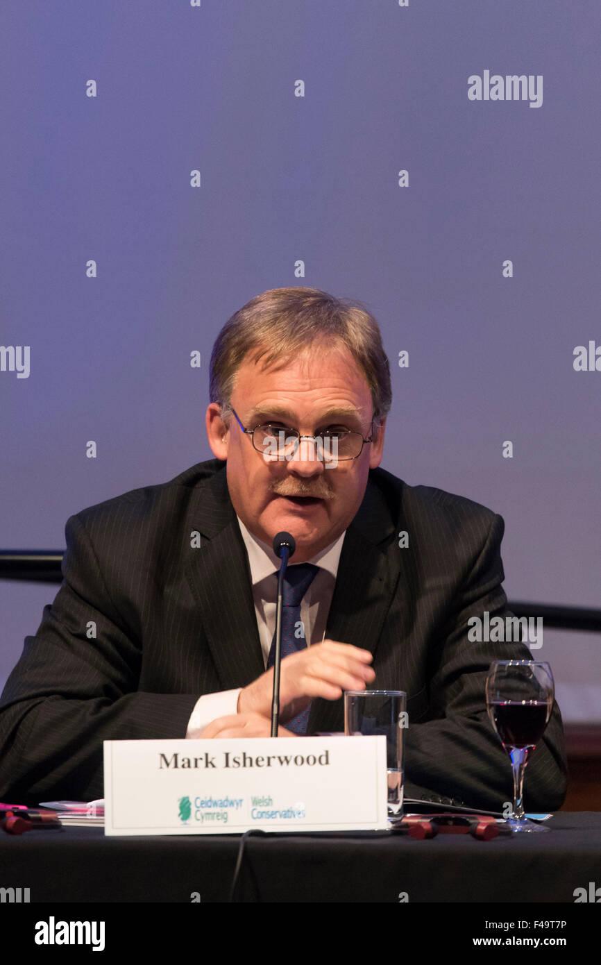 Welsh Conservative AM Mark Isherwood - Stock Image