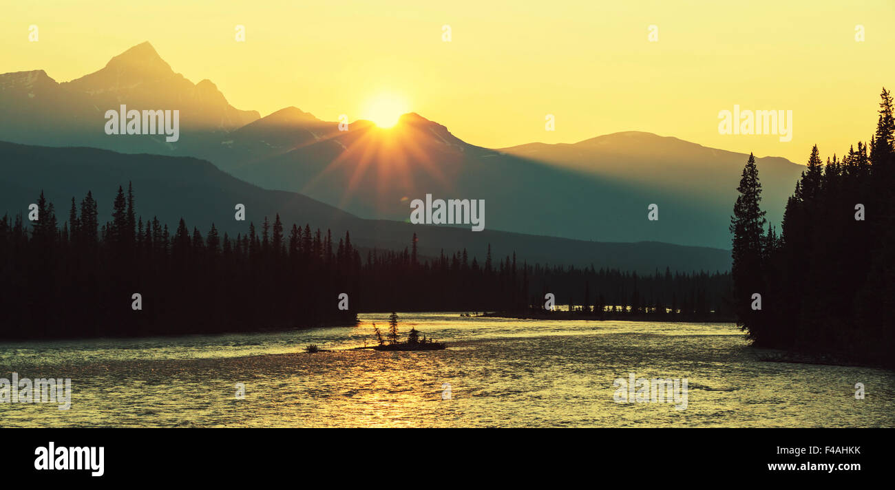 Canadian landscapes Stock Photo