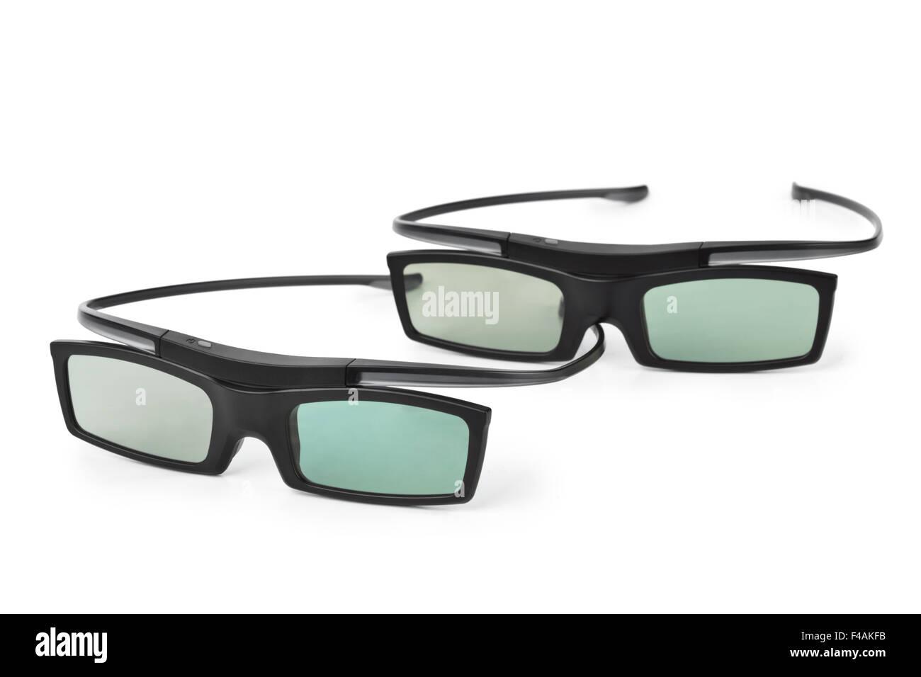 3d glasses - Stock Image