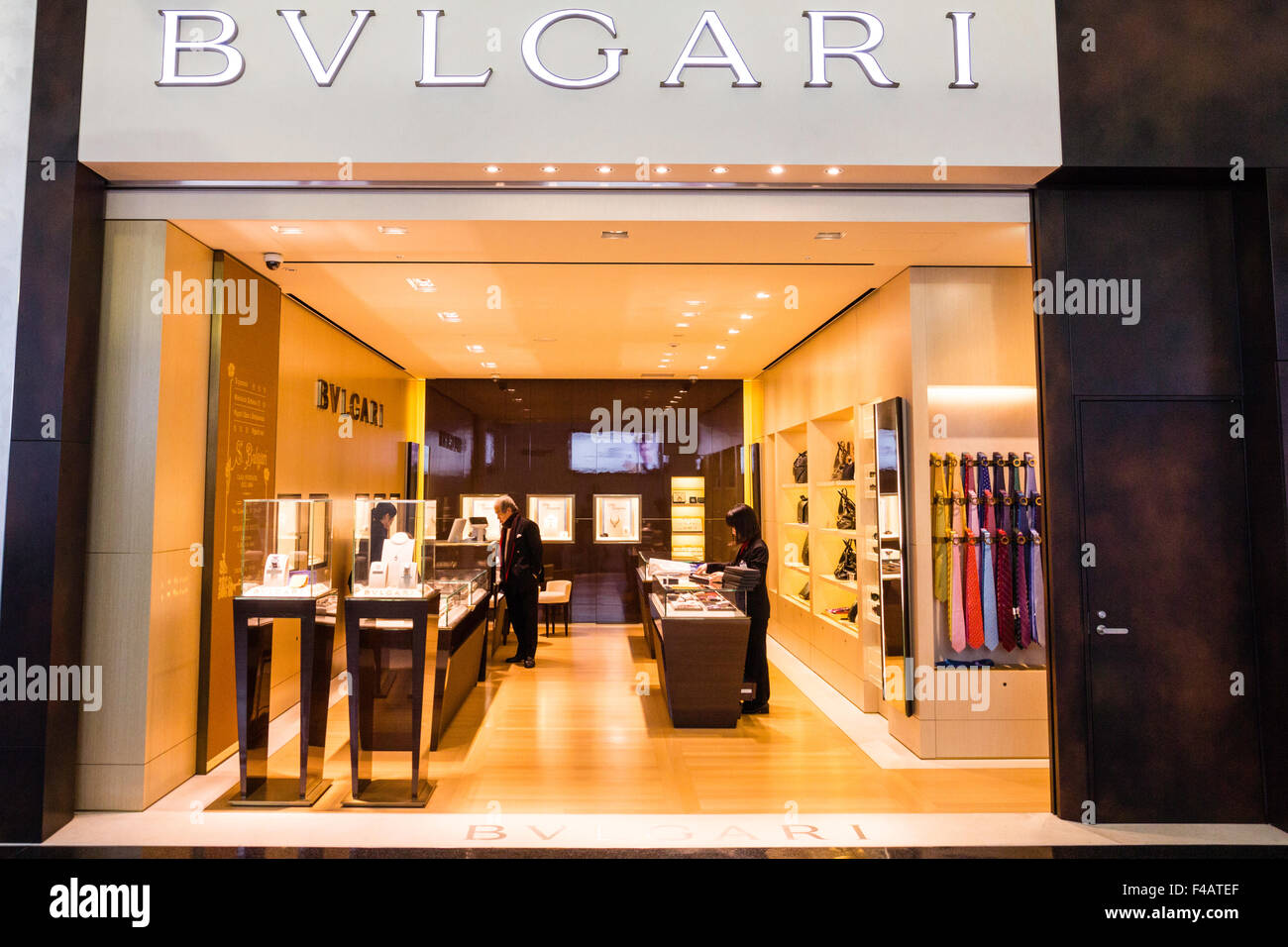 Kansai airport osaka japan departure lounge bvlgari for International decor brands