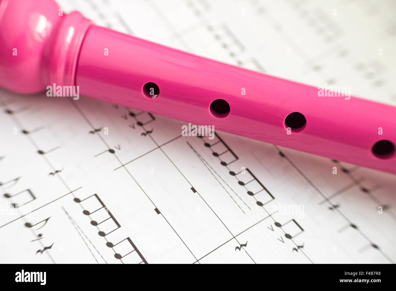 Flute - Stock Image