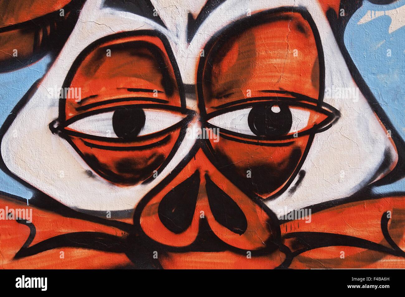 Graffito Stock Photo