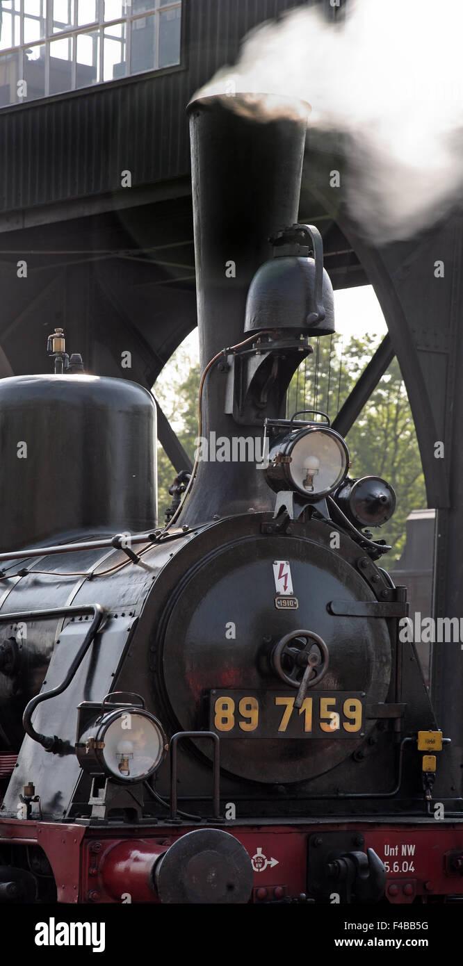 Railway Museum Bochum Dahlhausen, Germany. - Stock Image