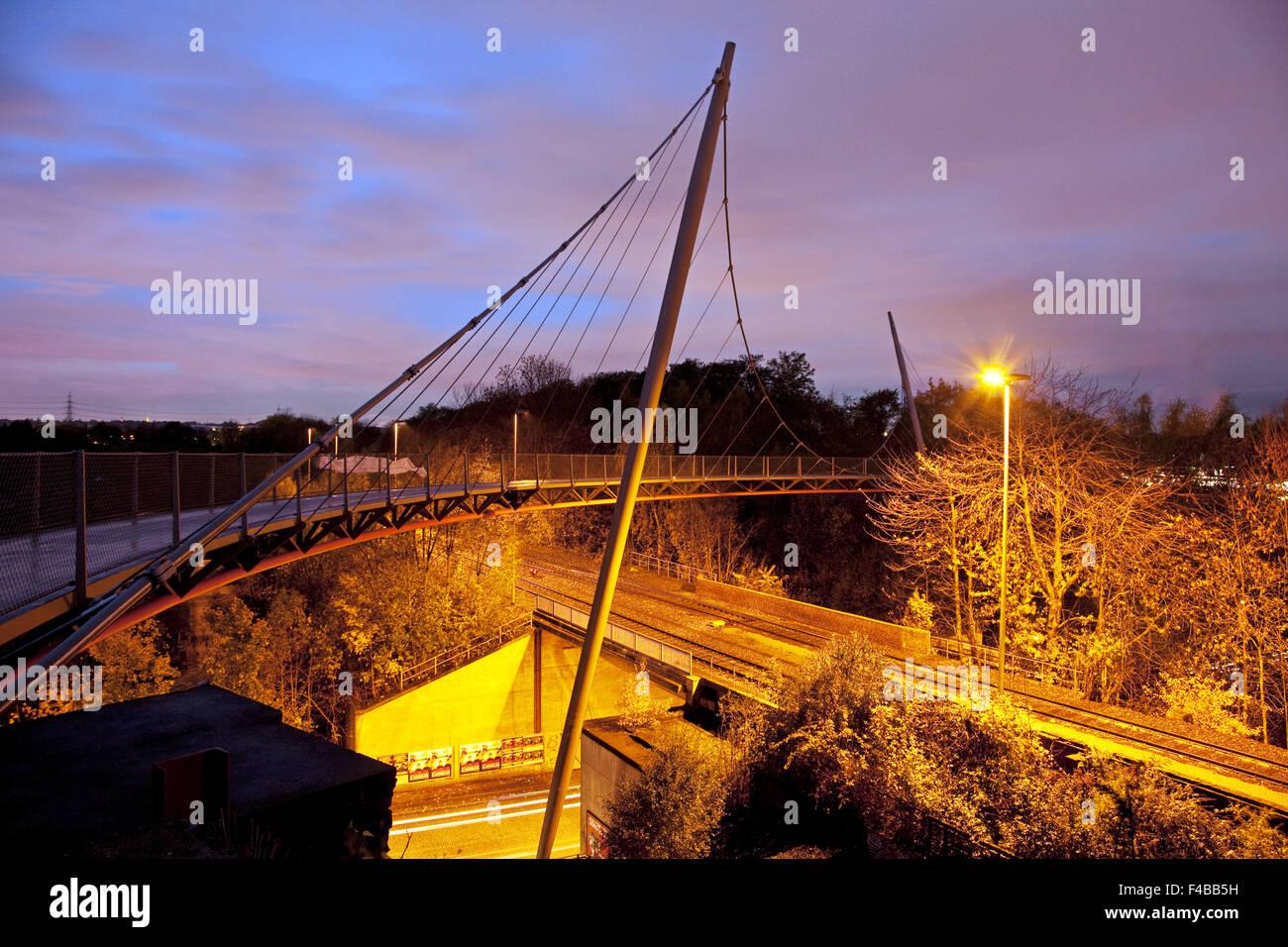 bahnschwinge in Bochum in Germany. - Stock Image