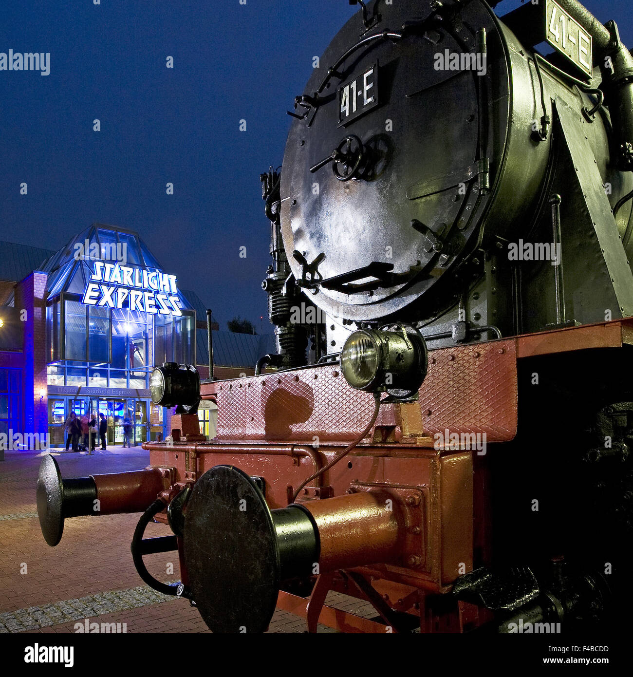 Starlight Express, Bochum, Germany. - Stock Image