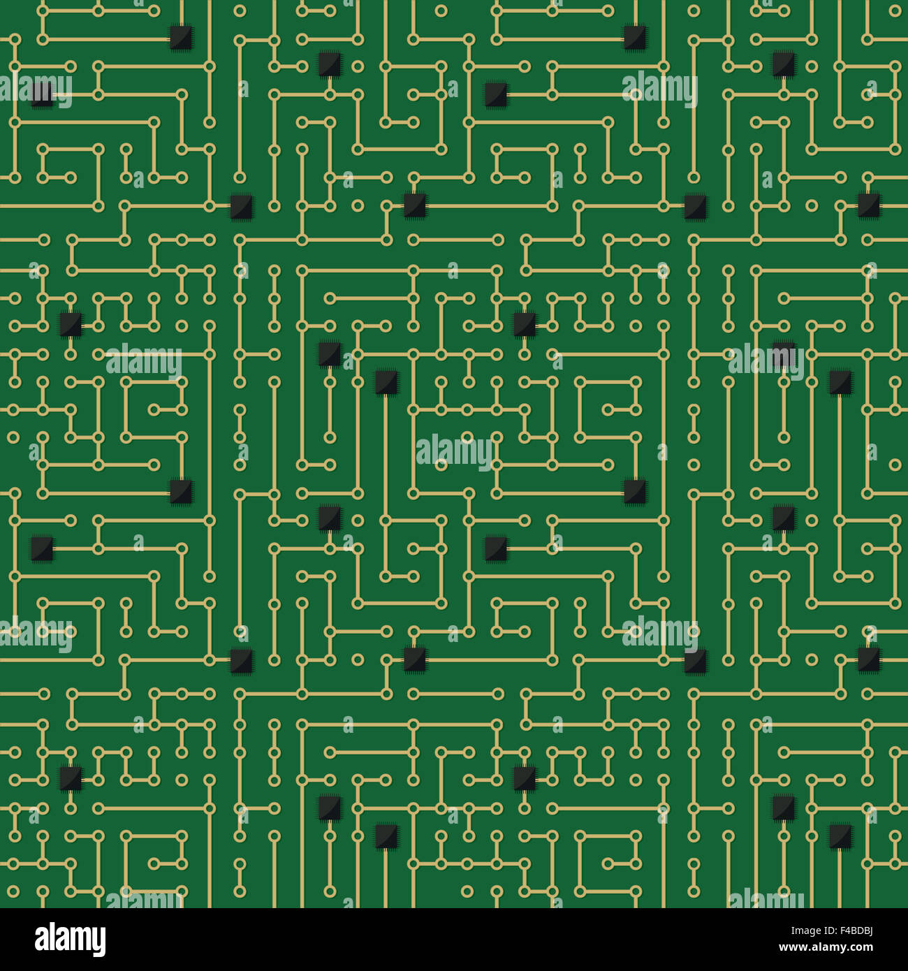 Circuit Pattern Wallpaper Evil Robot Board Black And Blue Green Picture Frame By Robyriker Seamless Stock Photos