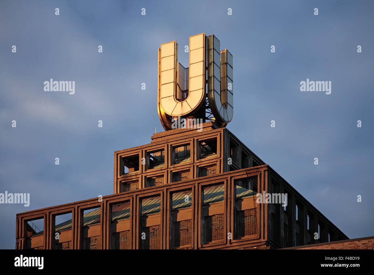 U, Dortmund, Germany. - Stock Image