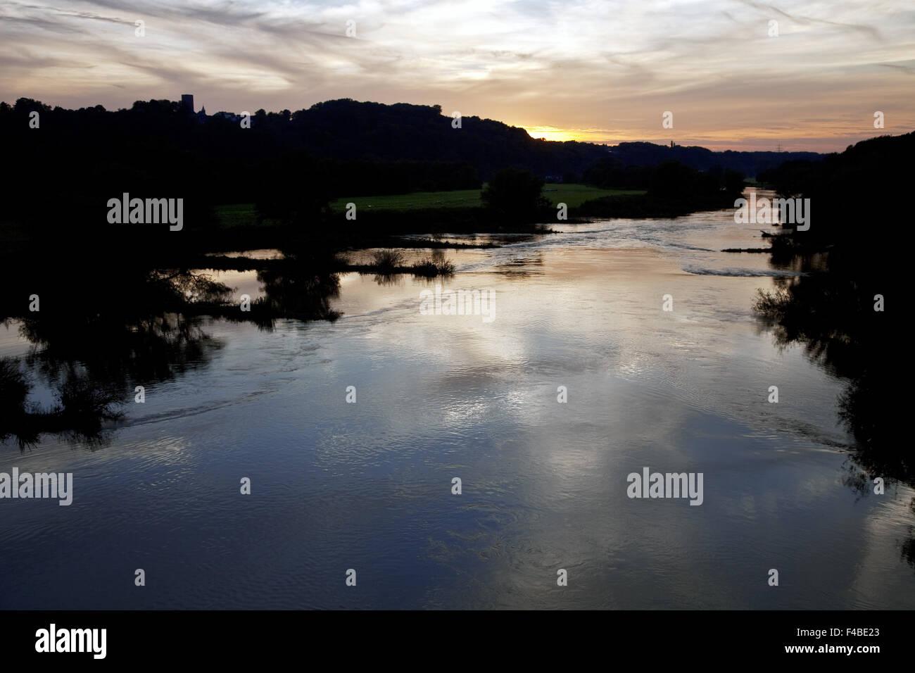 Ruhr Valley, Hattingen, Germany. - Stock Image