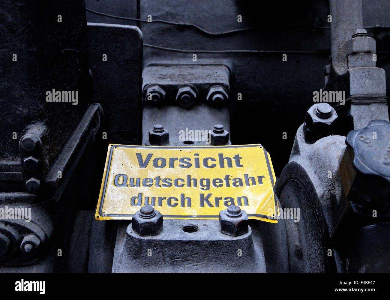 Henrichshuette Hattingen Steelworks, Germany. - Stock Image