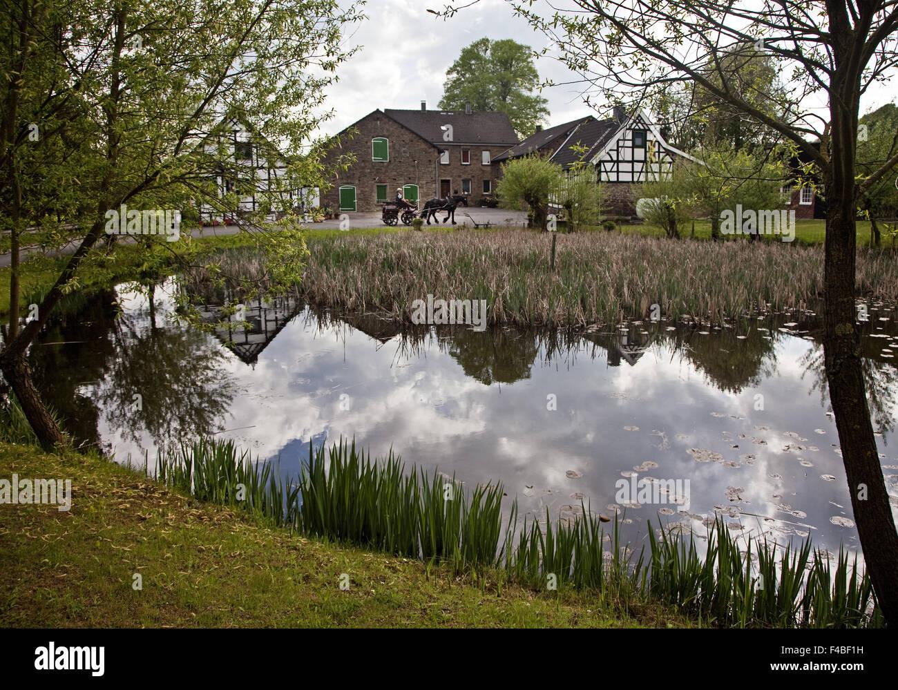 Farm, Sprockhoevel, Germany. - Stock Image