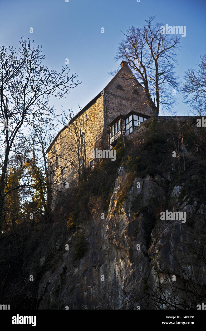 Castle Klusen stone Hemer, Germany. - Stock Image