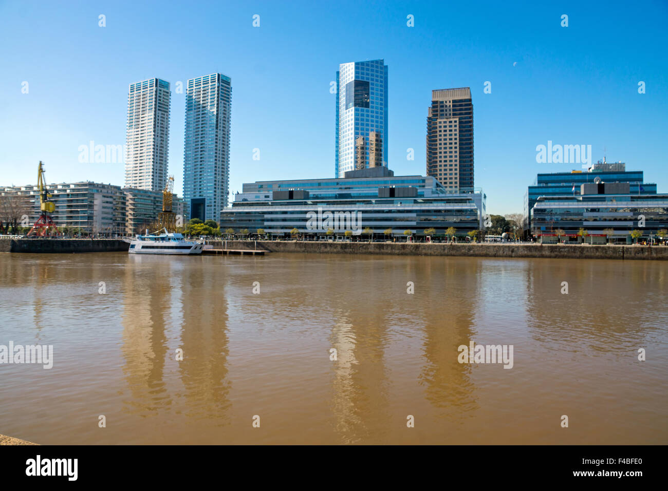 Part of Puerto Madero - Stock Image