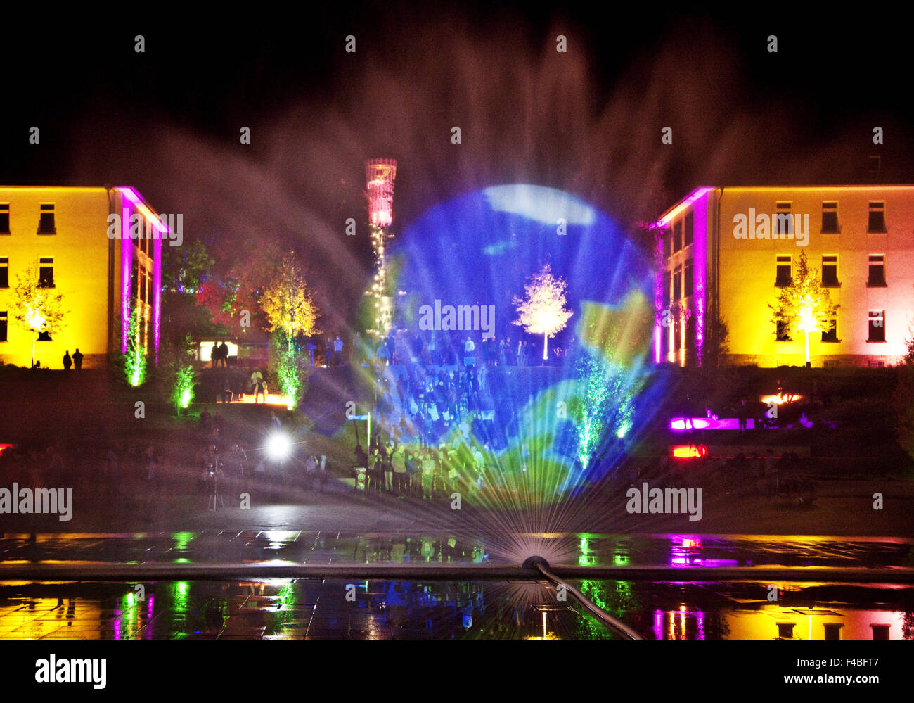 Garden Night Germany Stock Photos  Garden Night Germany Stock Images  Alamy