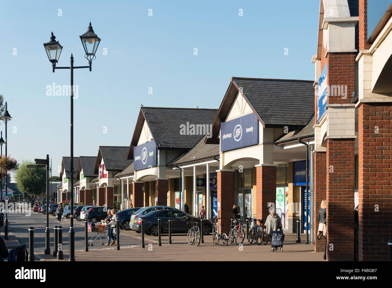 Two Rivers Shopping Centre, Staines-upon-Thames, Surrey, England, United Kingdom - Stock Image
