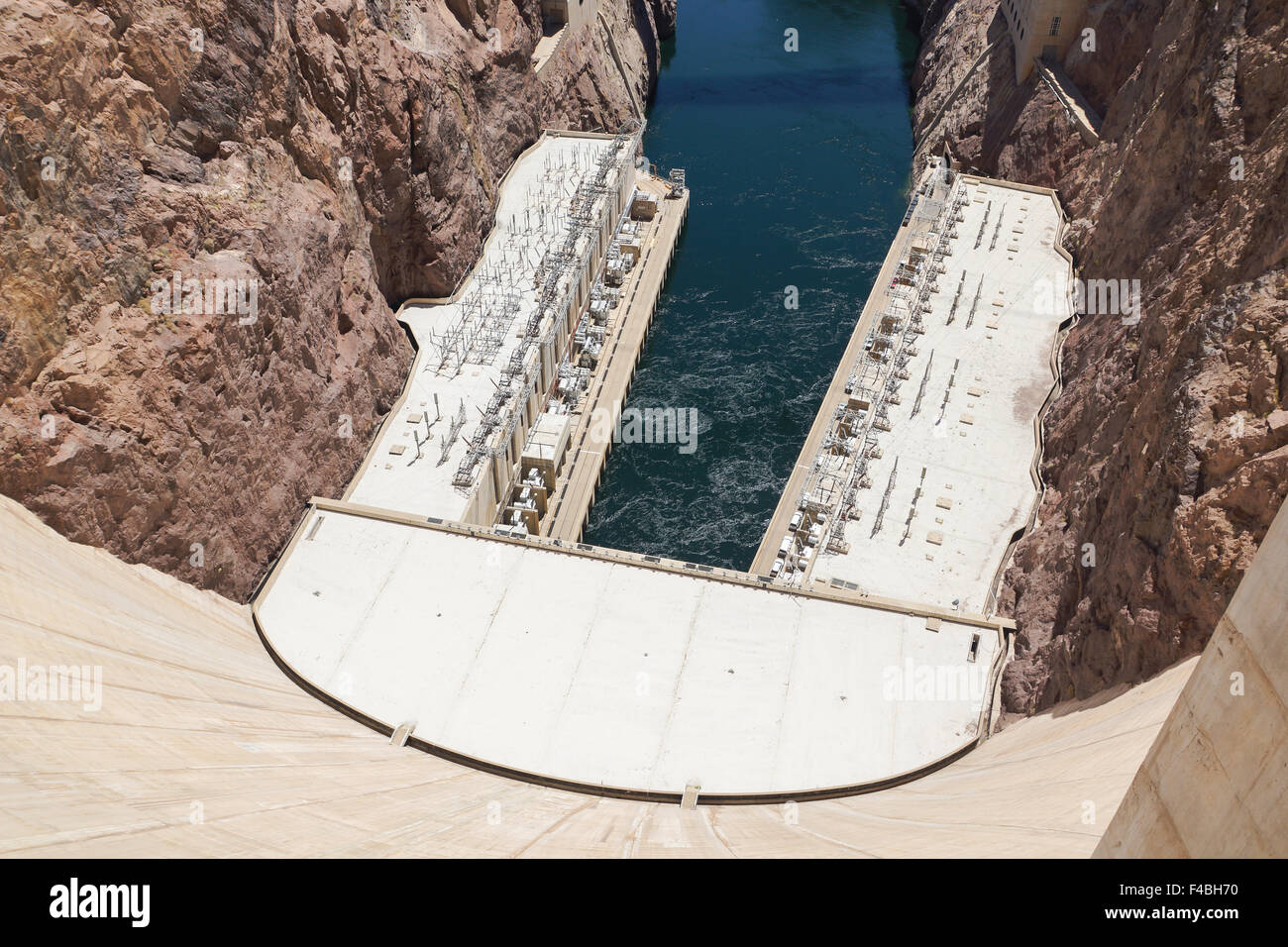 Hoover-Dam Power Stock Photo