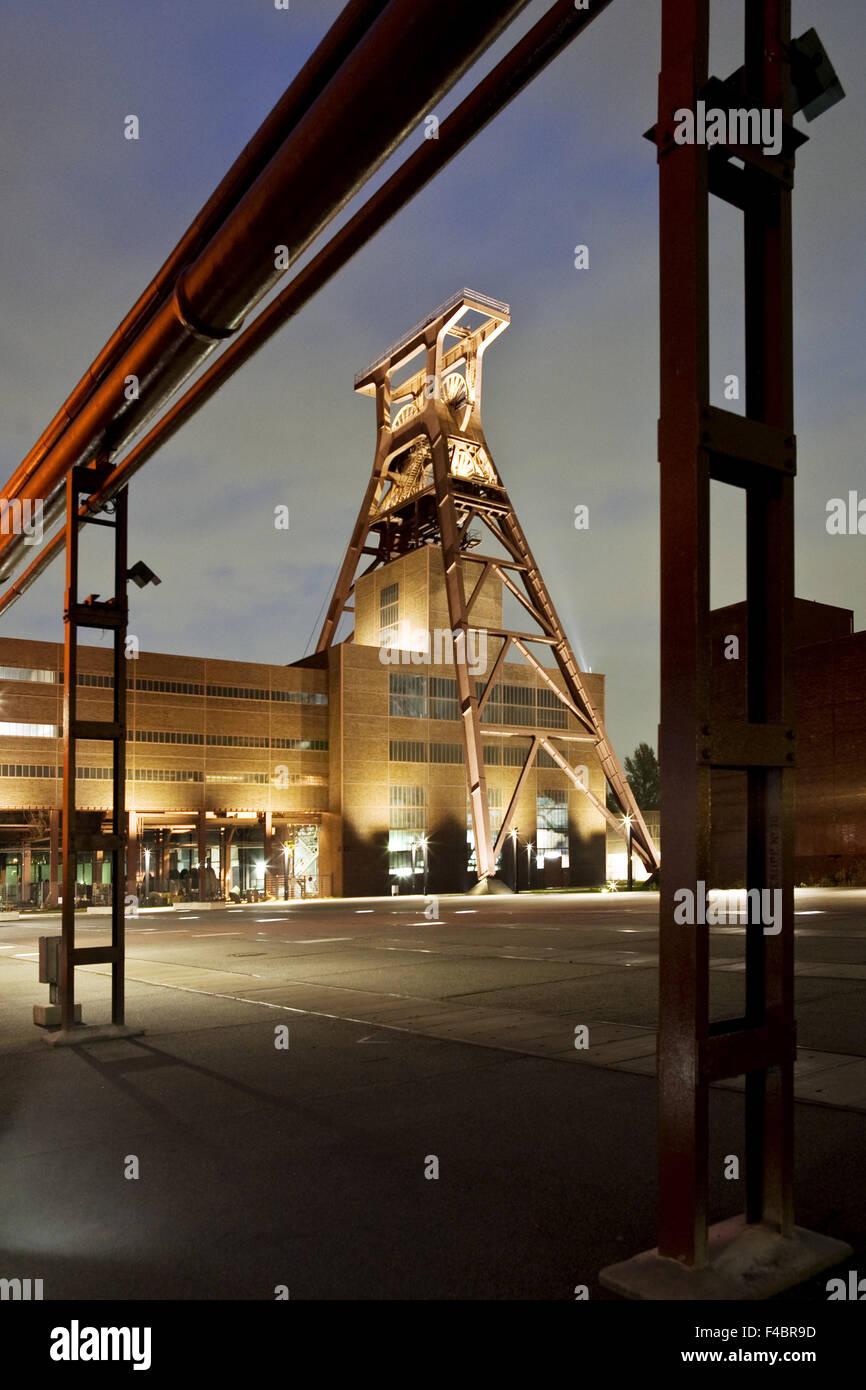 Headframe Zollverein, Essen, Germany - Stock Image