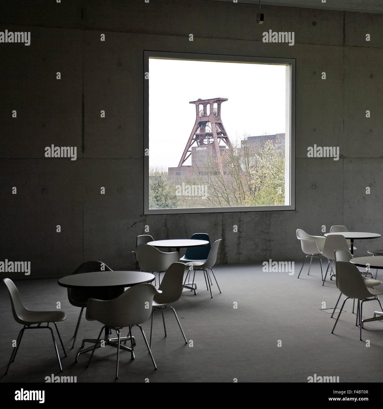 Zollverein cube, Essen, Germany - Stock Image