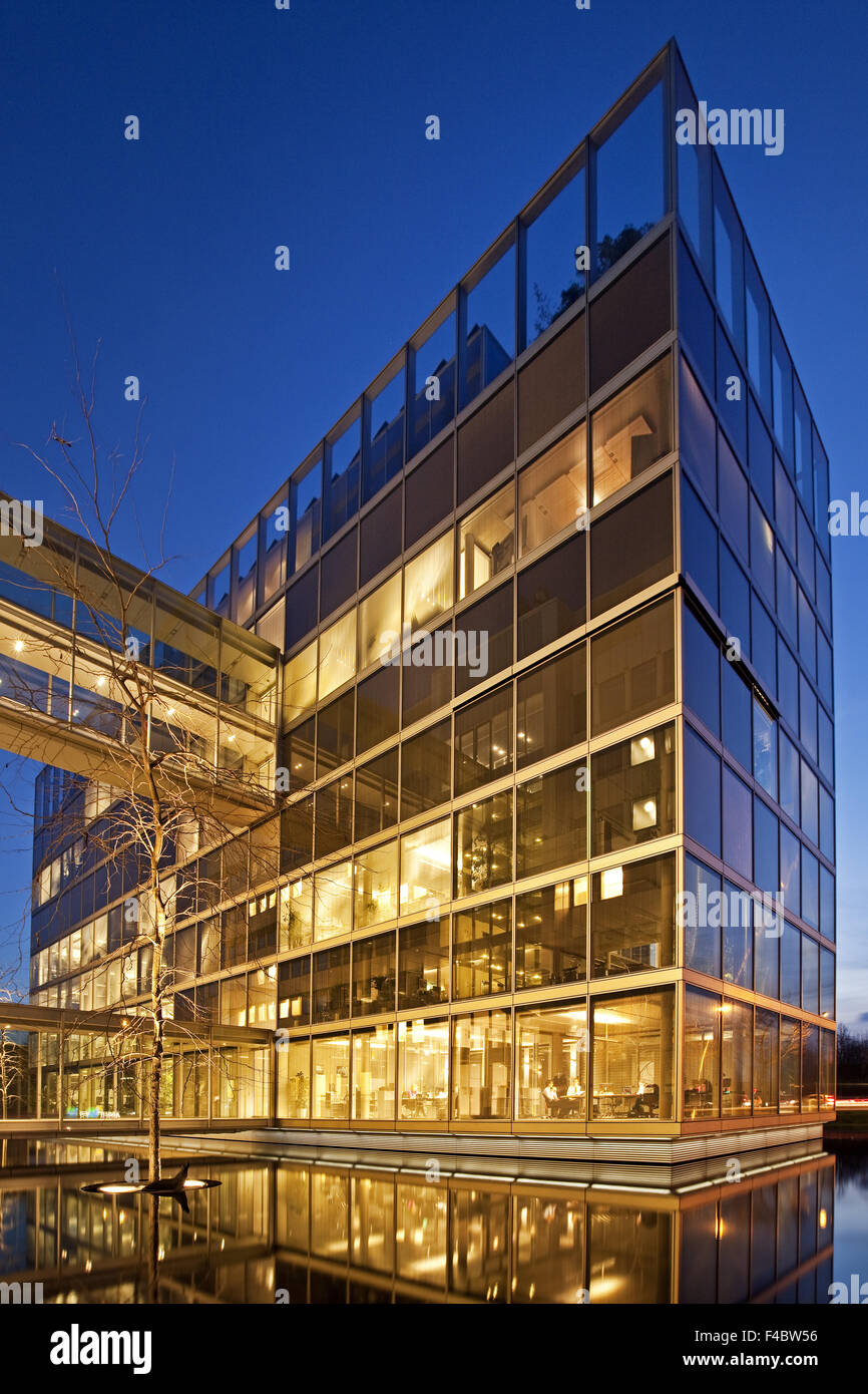 Headquarters Gelsenkirchen water, Gelsenkirchen - Stock Image