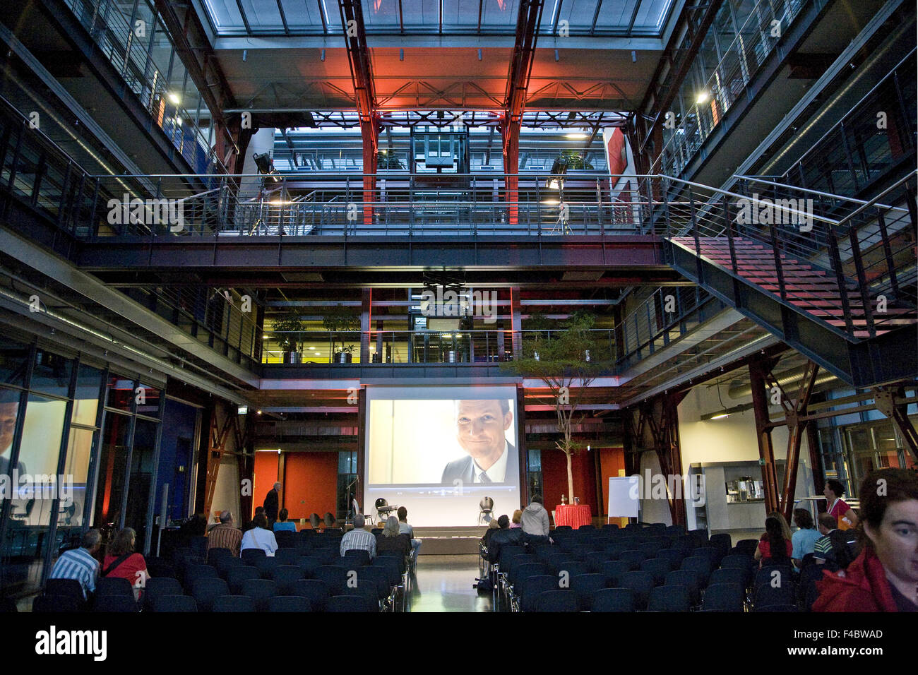 Event extra layer, Gelsenkirchen, Germany - Stock Image