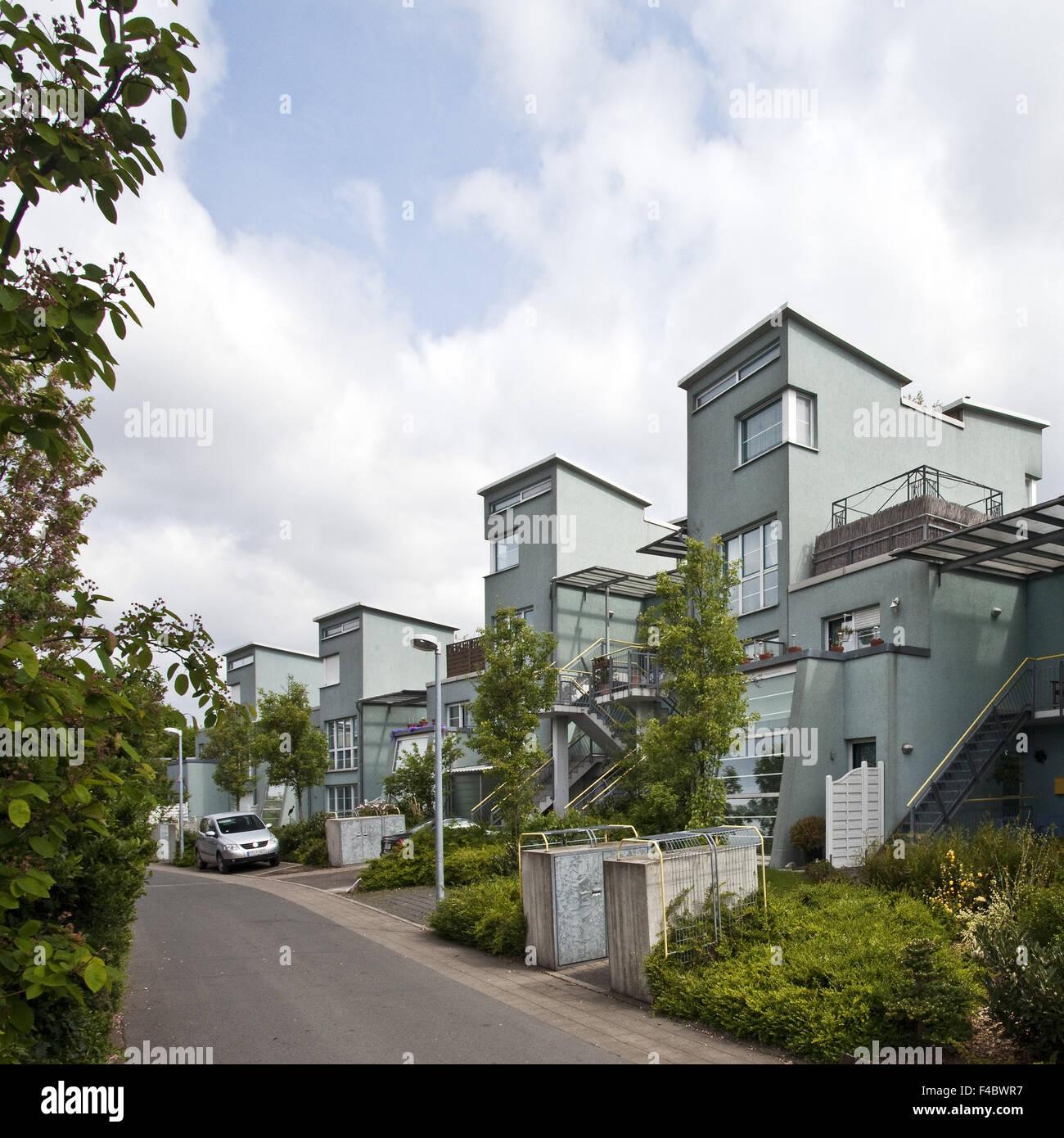 Housing estate Kueppersbusch, Gelsenkirchen - Stock Image