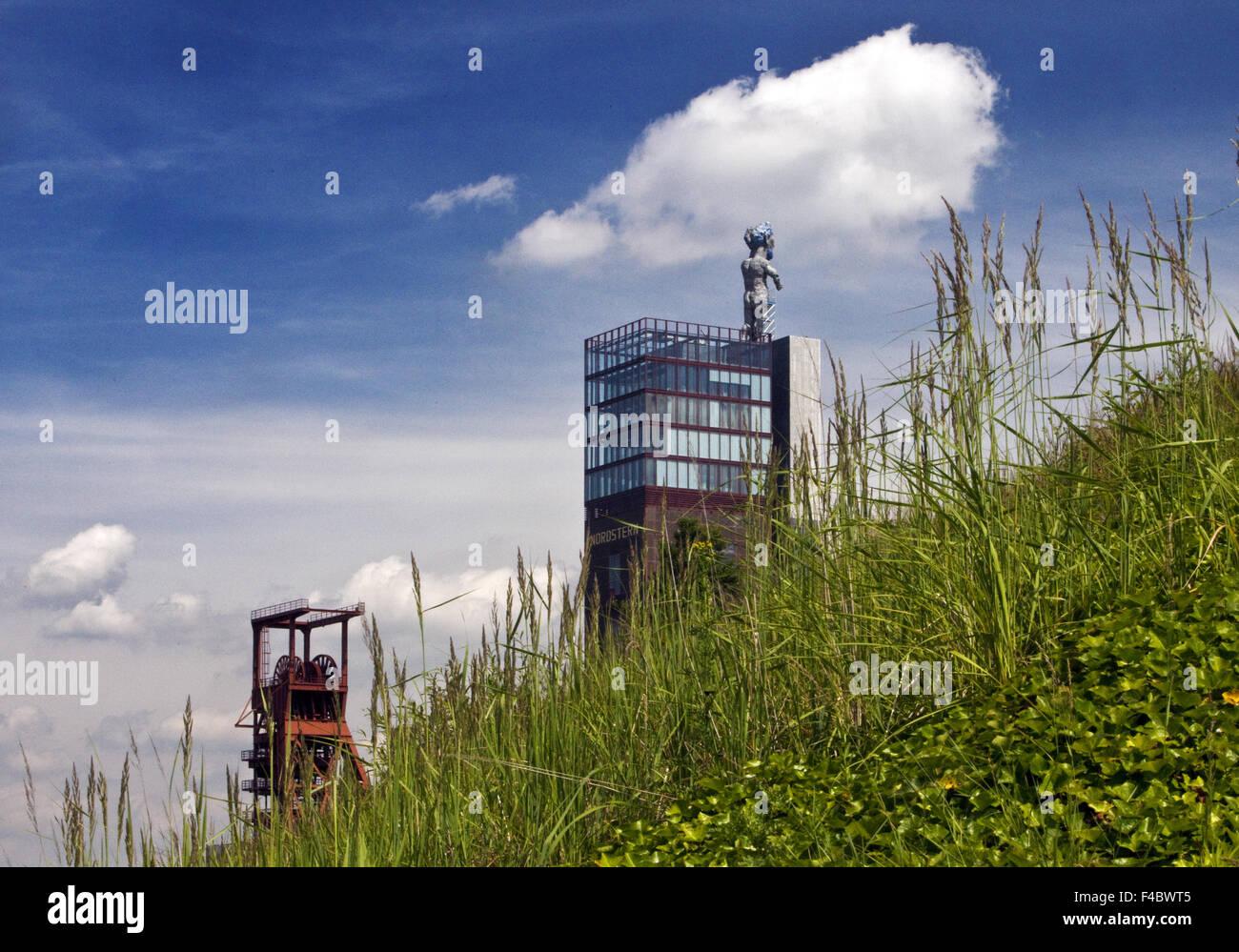Nordstern Park, Gelsenkirchen, Germany - Stock Image