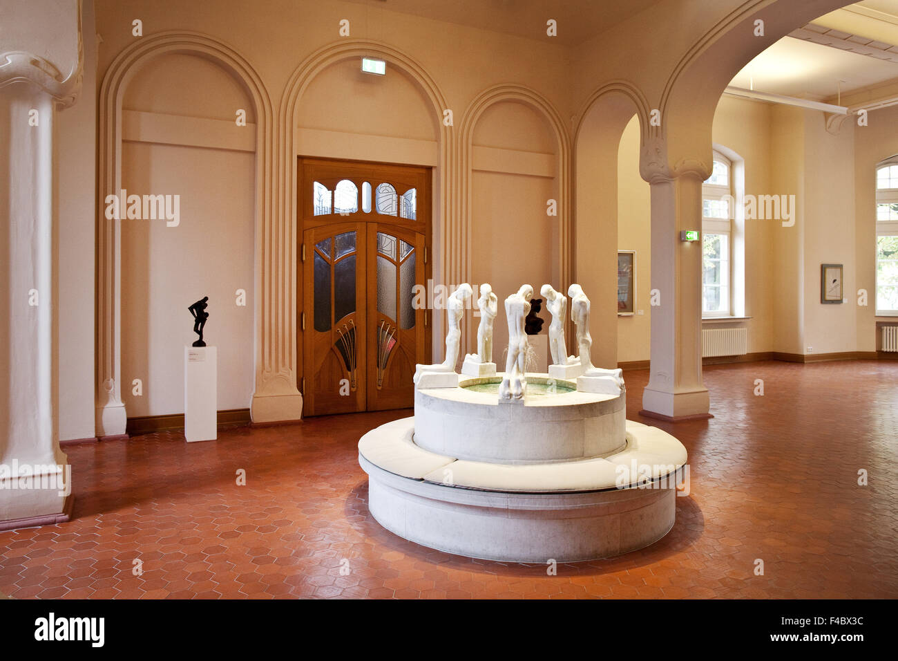 Karl Ernst Osthaus Museum, Hagen, Germany - Stock Image