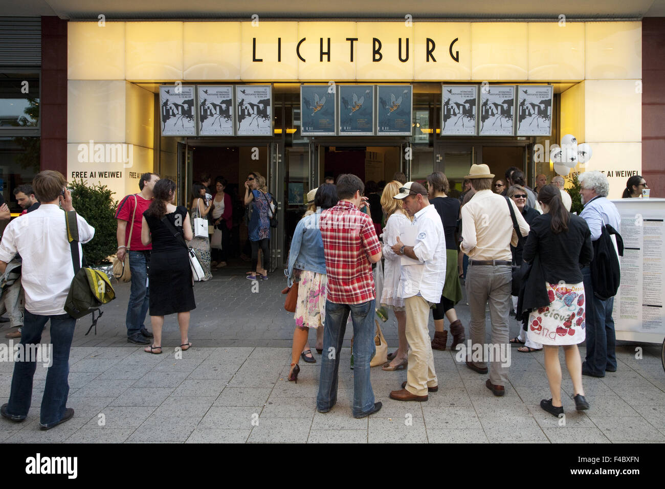 International Short Film Festival, Oberhausen - Stock Image