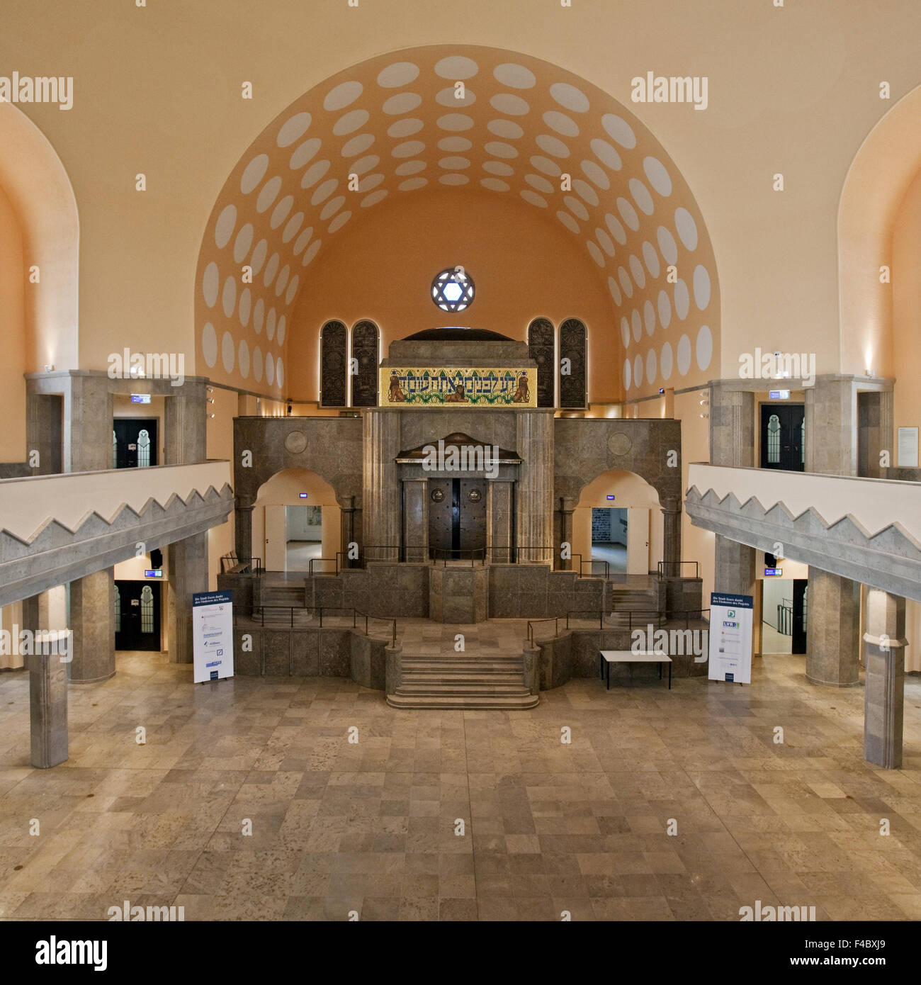 Old Synagogue, Essen, Germany - Stock Image