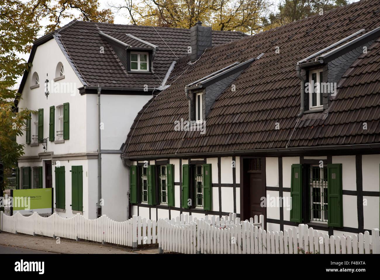 St. Antony hut, Oberhausen, Germany - Stock Image