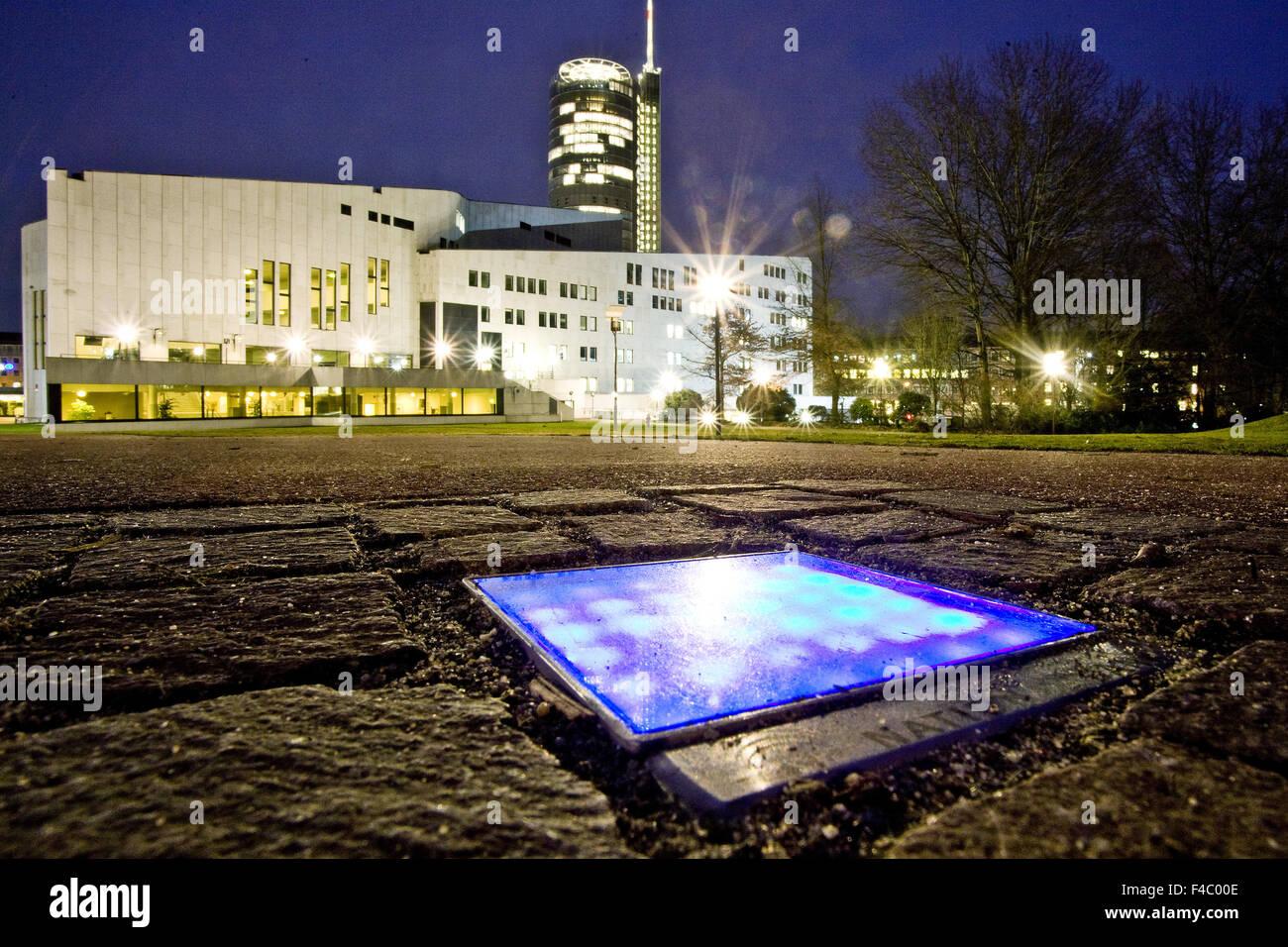 Culture path, Essen, Germany - Stock Image