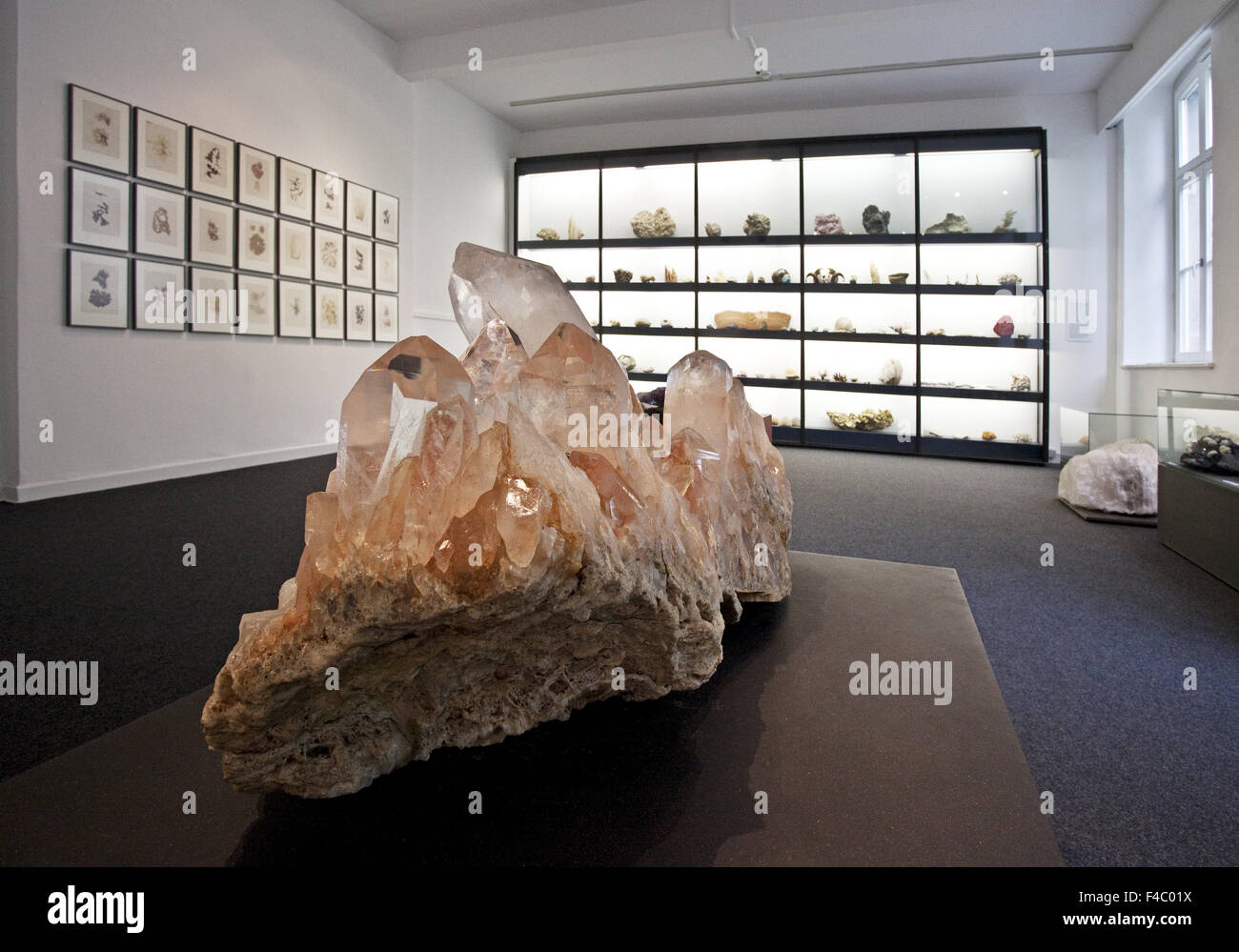 Mineral Museum, Essen, Germany - Stock Image