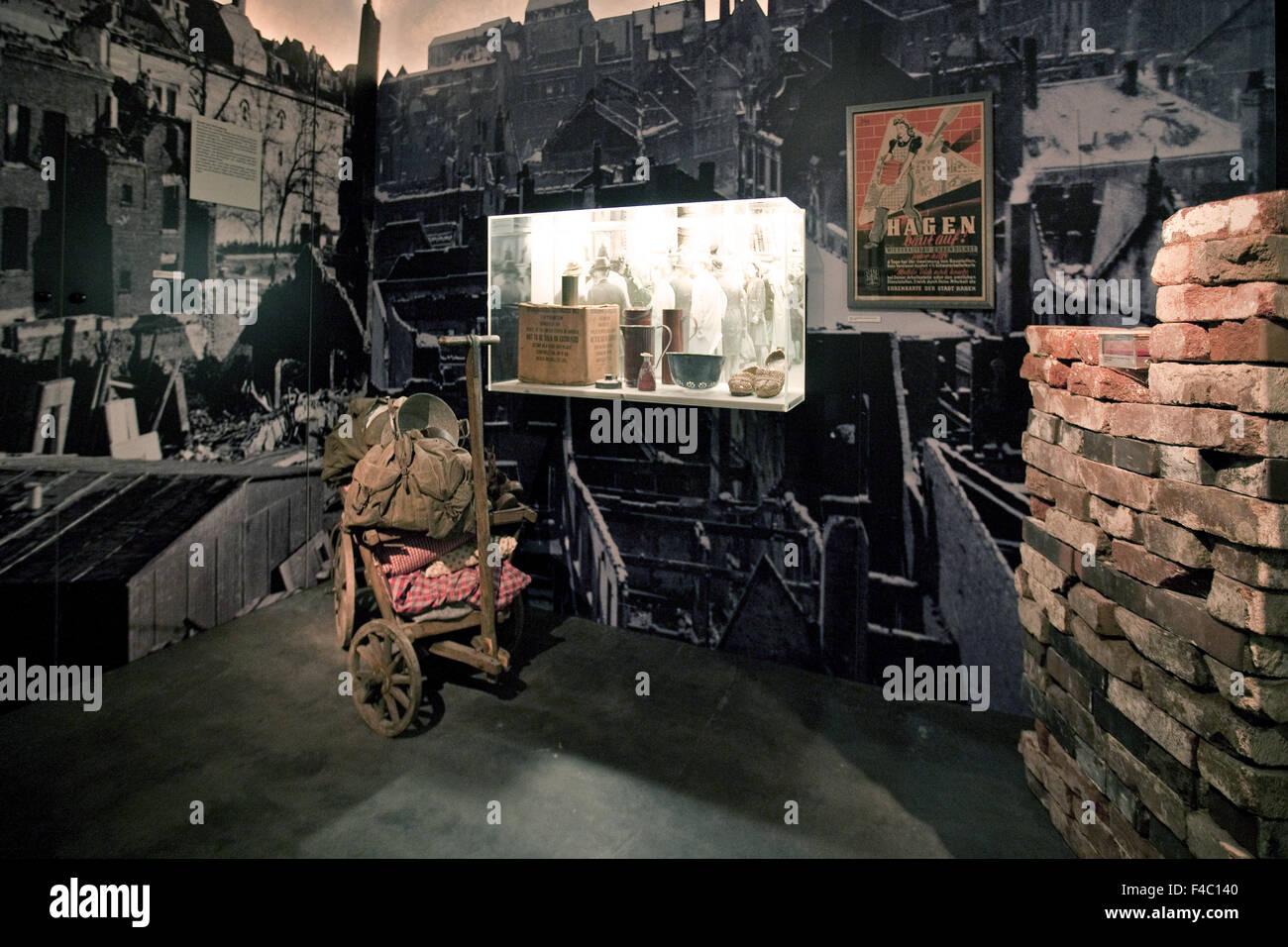 Exhibition City Museum, Hagen, Germany - Stock Image