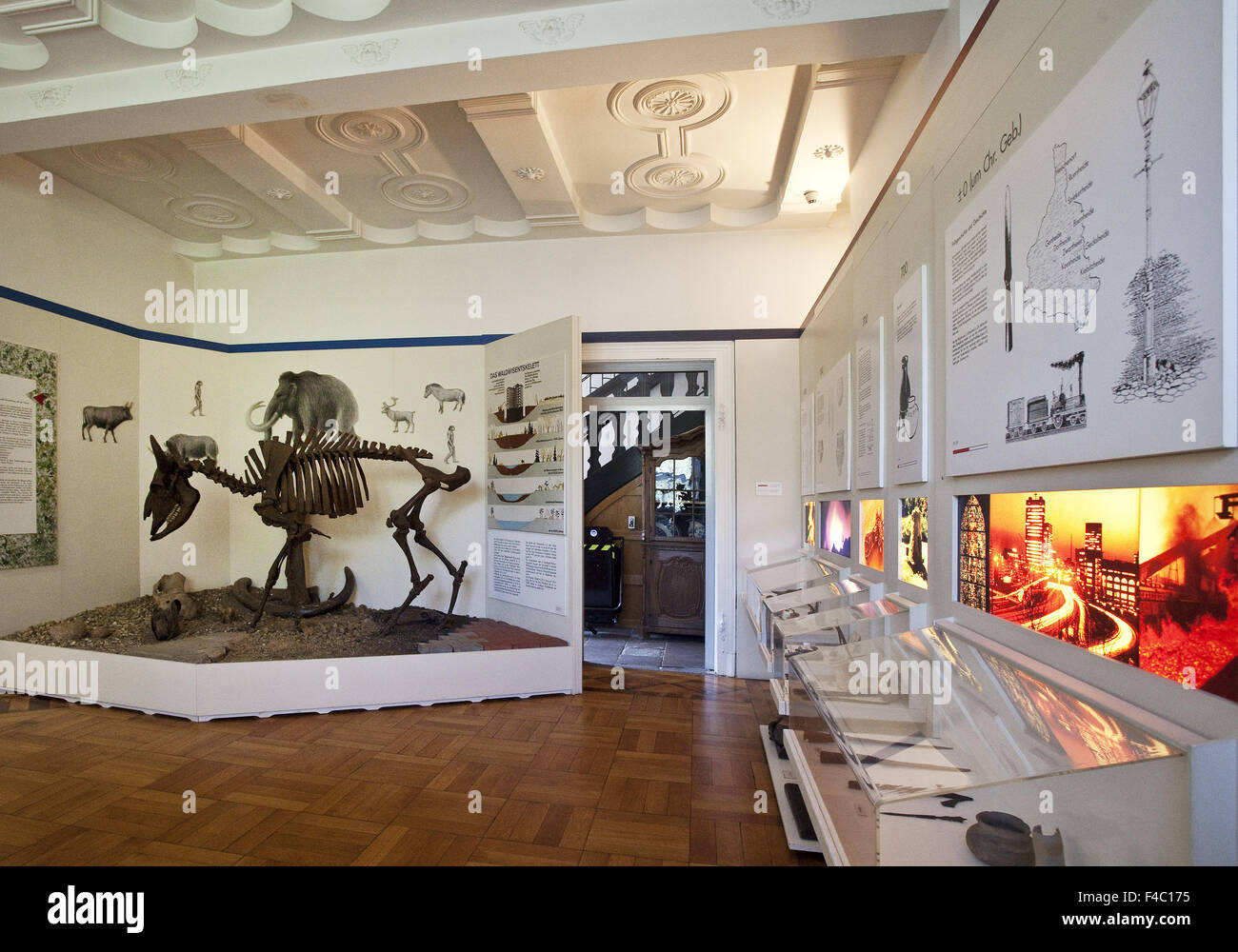 City Museum, Gladbeck, Germany - Stock Image