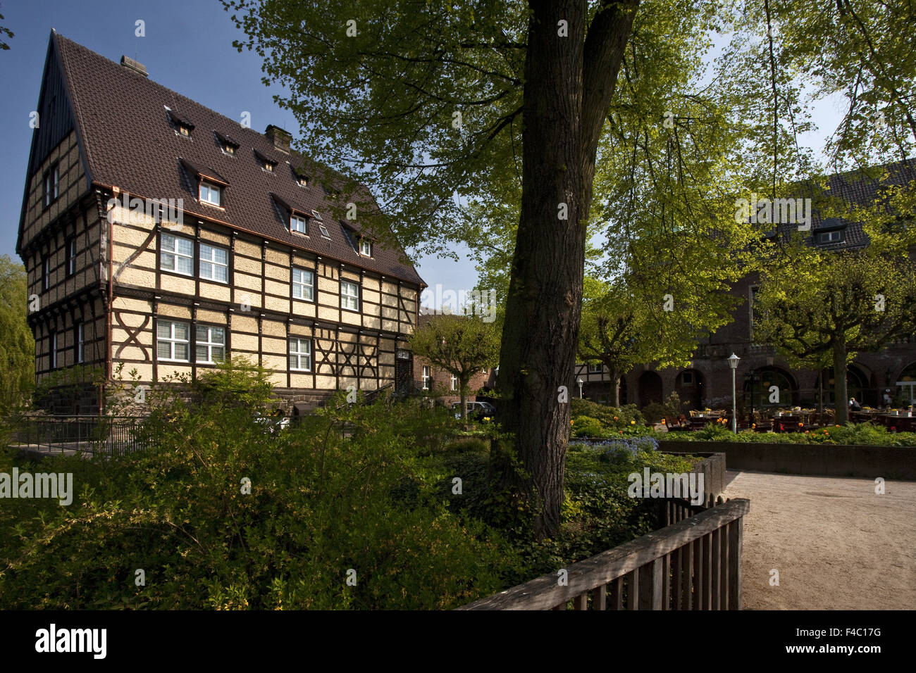 Wittringen castle, Gladbeck, Germany - Stock Image