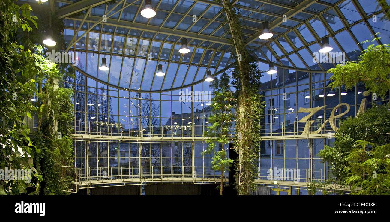 Glass House, Herten, Germany - Stock Image