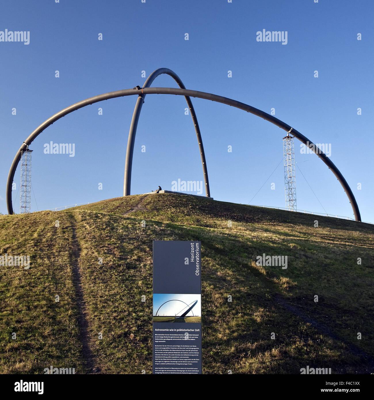 Horizon Observatory, Hoheward, Herten, Germany - Stock Image